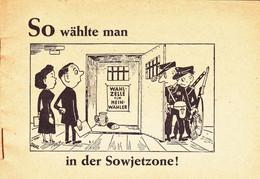 Allemagne 1948 Livret De Propagande Anti Soviétique. Anekdotenheft N3 - Other