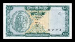 Camboya Cambodia 1000 Riels 1995 Pick 44 SC UNC - Cambodia