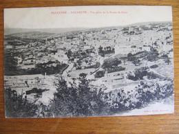 CPA -   PALESTINE - NAZARETH - VUE PRISE DE LA ROUTE DE CANA - Palestine