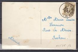 Postkaart Van Reckheim (Vl) (sterstempel) Naar Reckem - 1932 Cérès Et Mercure