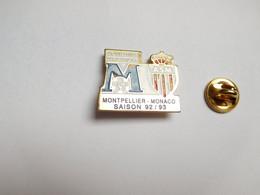 Football , Montpellier SC - ASM Monaco , ATTENTION : Manques De Peinture - Football