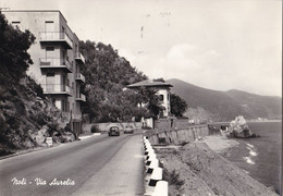 Italië - Ligurië/Savona - Noli - Via Aurelia - Zwart/wit - Gebruikt - Altre Città