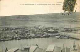 85 LES SABLES D'OLONNE. Bassin Et Chantiers 1919 - Sables D'Olonne