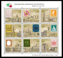 Italie BF1** - Blocks & Sheetlets