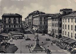 Italië - Lugurië - Genova/Genoa - Chiavari - Piazza Matteotti - Zwart/wit - Gebruikt - Altre Città