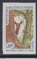 Cote D'Ivoire N° 281 Nd XX :Protection De La Faune Et De La Flore, Non Dentelé, Sans Charnière, TB_ - Ivory Coast (1960-...)
