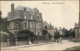 CPA Cabourg Calvados, Hotel Beausejour - Autres Communes