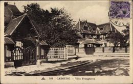 CPA Cabourg Calvados, Villa Frangeoros - Autres Communes