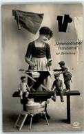 53252200 - Vaterlaendischer Hilfsdienst Fuer Bekleidung Soldaten-Puppen Buegeleisen - War 1914-18