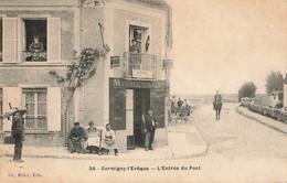GERMIGNY L'EVEQUE : L'ENTREE DU PONT - Autres Communes