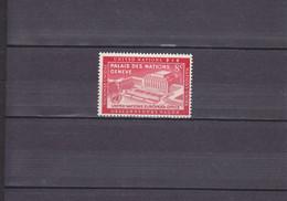 OFFICE EUROPéEN DES NATIONS UNIES à GENèVE/ 8C ROUGE CARMINé/NEUF **/N° 26 /YVERT ET TELLIER 1954 - Nuovi