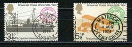 G. BRETAGNE UPU N° Yvert 725+726 Obli. - Oblitérés