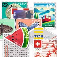 """Schweiz Mi. 2700-12** """"Schweiz Aisgabe/Issue Mai/may 2021"""" Postfrisch - Unused Stamps"""