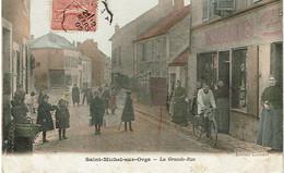 SAINT-MICHEL-sur-ORGE  :  La Grande-Rue - Saint Michel Sur Orge