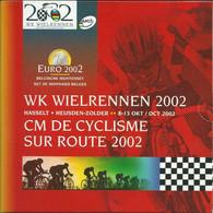 België/Belgique 2002 : WK Wielrennen/CM Du Cyclisme.  Gratis Verzending/Envoi Gratuit. - Belgique