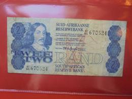 AFRIQUE Du SUD 2 RAND 1978-90 Circuler - South Africa