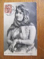 CPA - EGYPTIAN TYPES - A FELLAH SINGER - Personnes
