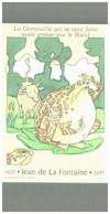 JEAN DE LA FONTAINE  Fables  LA GRENOUILLE QUI SE VEUT FAIRE AUSSI GROSSE QUE LE BOEUF - Fiabe, Racconti Popolari & Leggende