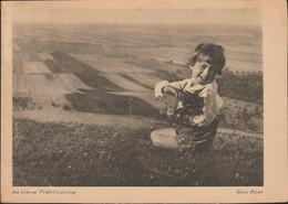 Third Reich Postcard Spring Posted Frankfurt Am Main 11.4.1936 (G129-35) - Briefe U. Dokumente