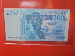 TOGO 2000 FRANCS 2003 Circuler - Togo