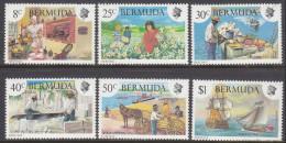 BERMUDA, 1981 HERITAGE 6 MNH - Bermuda