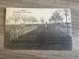 CP Ancienne De Châtelet : Cimetière Des Soldats Français (~1925) - Châtelet