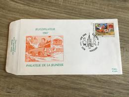 Belgique : N°2264 Bob Et Bobette Sur FDC - Cartas