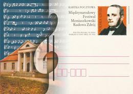 M 35) Polen 2004 GSK *: Moniuszko - Festival, Komponist, Kudowa Zdrój (früher Bad Kudowa, Schlesien) - Music