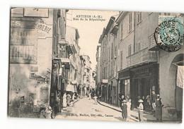 Très Rare LA PHARMACIE AGARD Rue De La République 194 PLM Maillan Commerce Boutique  Antibes  N236 - Altri