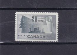 Canada 1952 251 Serie Corrente Mnh - Sin Clasificación