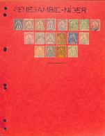 SENEGAMBIE ET NIGER -  Collection Neufs Et Oblit Sur Charnières  -cote Yvert 2015 :310€ - Voir Tous Les Scans - - Unclassified