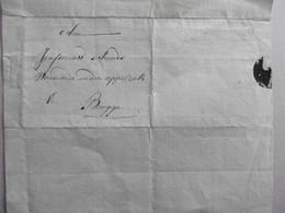 Overlijdensbericht. Uit Sint-Pieters-Kapelle Naar Brugge, Appelzak. 27 November 1826 Dood Pieter Decramer, Biervliet - Manuscripts