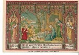 10 04/ D/    DEVOTIEPRENTJE     LITHO  8/12,50 Cm - Religione & Esoterismo