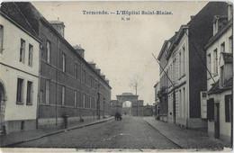 Termonde   -   Dendermonde   -   L'Hôpital Saint-Blaise   -   1905   Naar   Malines - Dendermonde
