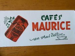 2 BUVARDS CAFE MAURICE - Coffee & Tea
