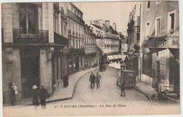 Vannes (56-Morbihan) La Rue Du Mené - Garage Renault - Vannes