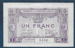 Chambre De Commerce De CALAIS -  1 Franc - Pirot N° 37 - Cámara De Comercio