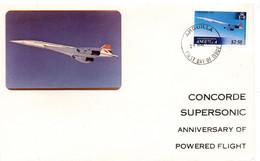 Concorde - FDC Anguilla 1979 - Anguilla (1968-...)