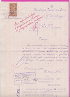 261708 / Bulgaria 1924 - 3 Leva  (1919)  , Revenue Fiscaux , Application - Bulgarian Agricultural Bank - Panagyurishte - Other