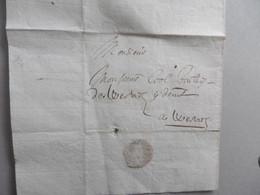 """Zonder Datum (ca. 1700). Brief Gericht Baljuw COOL Van Wervik. Betreft Het Kappen Van Een Bos """"à Wervicq"""" - Manuscripts"""