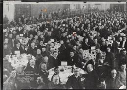 ETATS-UNIS - BOSTON - Retirage Du Cliché - Déjeuner En L'honneur Du Maréchal FOCH En 1921 Au Plaza Hôtel - Voir Descrip - Boston