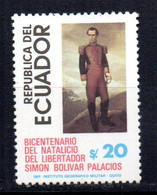 Sello Nº 1033  Ecuador - Ecuador