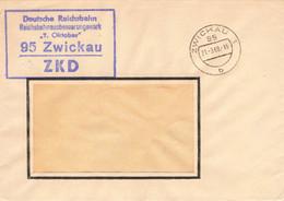 DDR Brief ZKD Deutsche Reichsbahn 7.Oktober Zwickau 1969 - Service