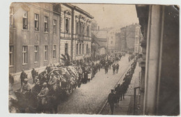 Gleiwitz - Enterrement Du Commandant Montalegre   Tué à Deuthen 1921 Carte Photo  - (E.3625) - Poland