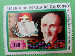 REPUBLIQUE POPULAIRE DU CONGO - Timbre 1978 : Henri BERGSON, Prix Nobel De Littérature 1927 - Oblitérés