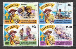 Ghana N° 557/60 YVERT NEUF * - Ghana (1957-...)