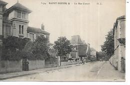 52 - SAINT DIZIER - La Rue Carnot - Saint Dizier