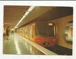 Cp , Chemin De Fer , LE METRO A LYON , Station HOTEL DE VILLE , Voyagée - Subway