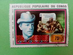 REPUBLIQUE POPULAIRE DU CONGO - Timbre 1978 : Fridtjof NANSEN, Prix Nobel De La Paix 1922 - Oblitérés