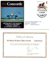 Concorde - London Kuwait 1979 - Royal Flight - Queen On Board - British Airways - Kuwait